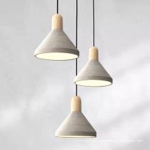 Modern Concrete Indoor Decorative Pendant Lamps Lighting