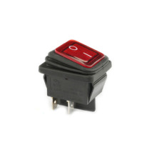 FBWPS-3122 waterproof rocker switch 16A red illuminated