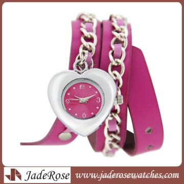 Fashion Ladies Heart Shape Watch