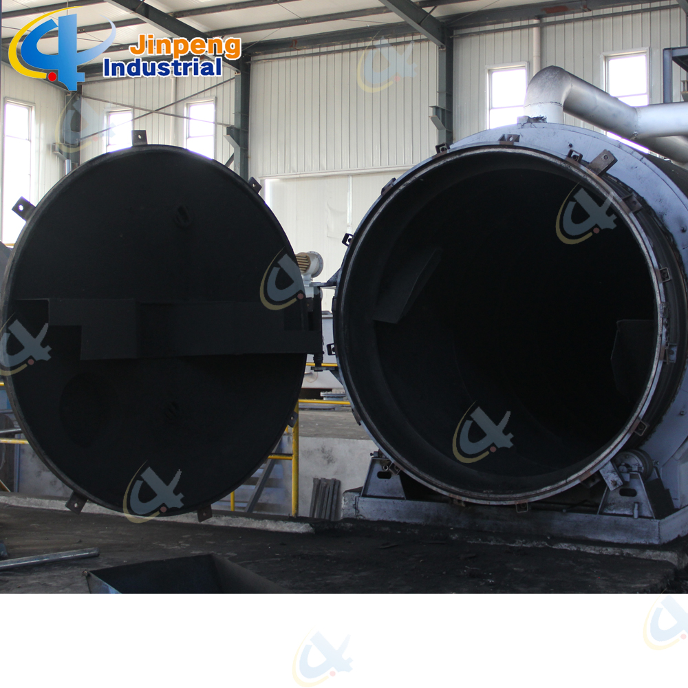 environmental tyre recycling plant