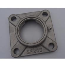 Rodamiento de bloque de almohada de acero inoxidable de brida cuadrada de alta calidad sf205