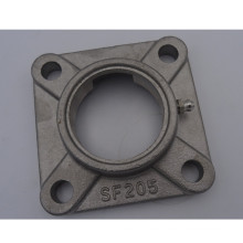 High quality square flanged type stainless steel Pillow Block Bearing sf205