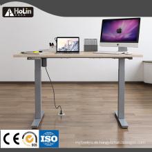 Höhenverstellbarer Sit Stand-Computertisch mit elektrischem Hub