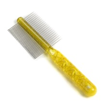 China for Pet Lice Comb Double Side Metal Brush supply to Jamaica Supplier