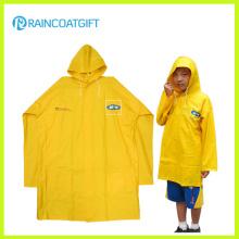 Marca feita sob encomenda PVC crianças capa de chuva