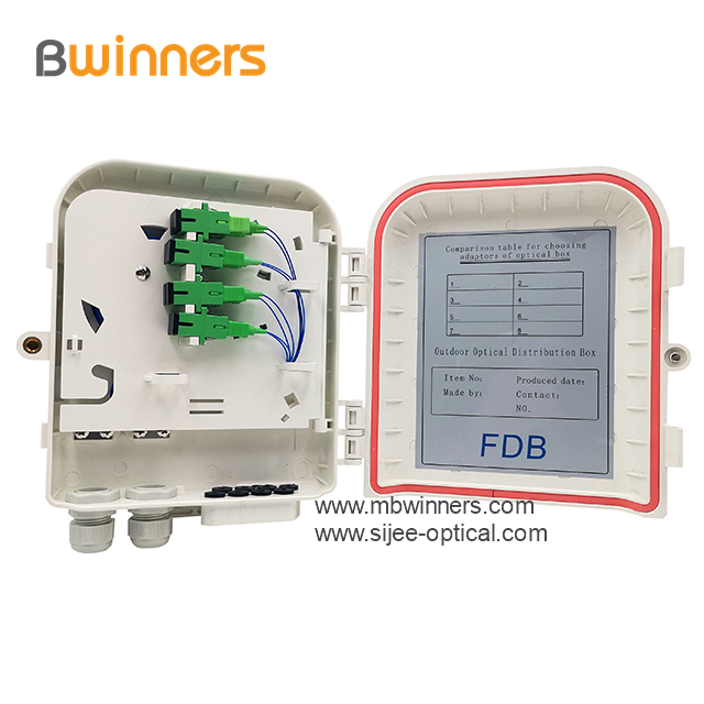 fiber optic cable termination box