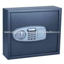 Electronic key cabinet, powder coating