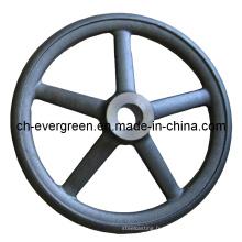 Acier / Investissements / Mousse perdue / Moulage de précision pour roue à main (IC-12)