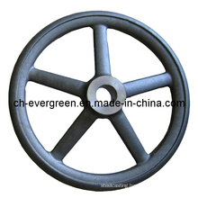 Steel/Investment/Lost Foam/Precision Casting for Hand Wheel (IC-12)
