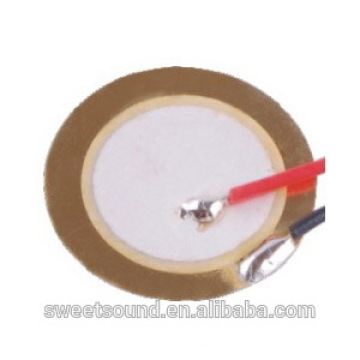 guangdong factory thin ceramic piezo 12mm 9.0khz thin and light piezoelectric pzt