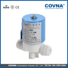 Válvula solenóide pvc de água potável com ligação roscada