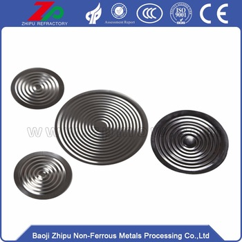 Wholesale 316L diaphragm foil for pressure gauge.
