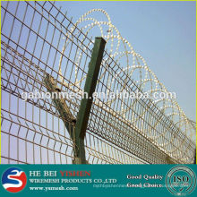 Cheap hot dipped galvanized razor wire/razor wire prison fencing/razor wire mesh fence in barbed wire