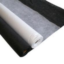 Interlining Fusible no tejido de doble punto con blanco negro