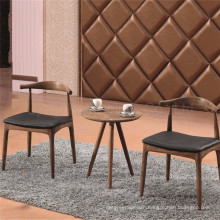 Dining Modern Cafe Tables and Chairs Cow Horn Furniture (SP-CT732)