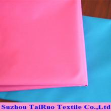 Tissu de pongé de polyester de haute qualité pour la doublure