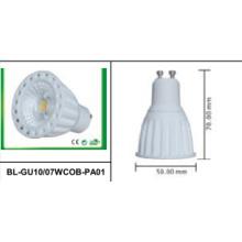 Светодиодный прожектор 7W GU10 COB