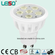 Proyector de Epistar LED del tamaño estándar 480lm (LS-S505-GU10-EWW / EW)