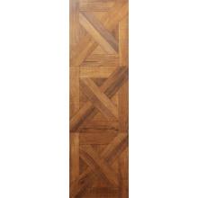 12.3mm E1 Woodgrain Textur Teakwasserbeständiger Laminatboden