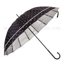 Anti-UV Windproof Lace Women's Straight Umbrella
