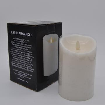 battery powered luminara flameless wax candles