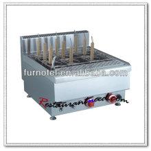 Elektrischer oder Gas-Edelstahl-Nudelkocher K411