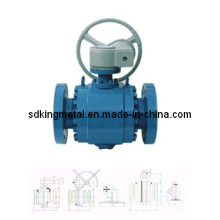 300lbs Cast Carbon Steel Wcb Fixed Ball Valve