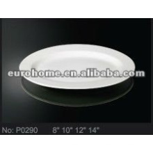 Restaurant Servierteller Keramik Porzellan Fischteller Gerichte (Nr. P0290)