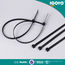 Atadura de cables de nylon negro / blanco / colorido con todo el tamaño