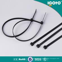 Attache de câble en nylon noir / blanc / coloré avec toutes les tailles