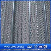 Cobertura elevada de reforço galvanizado a quente / rebordo