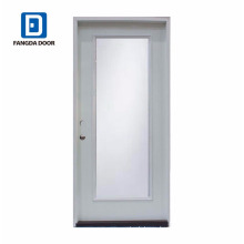 Fangda discount clear glass interior full glass door