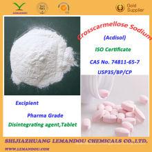 Натрий кроскармеллоза, наполнитель фармацевтической марки
