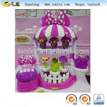 flower shop plastic toys mold and injection molding maker