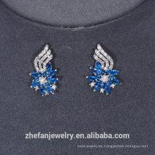 Pendientes sudamericanos de joyas pendientes de joyas de oro