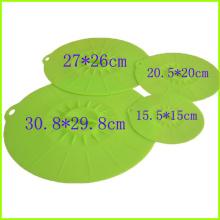 Tampa de sucção conjunto flexível de silicone taças tampas