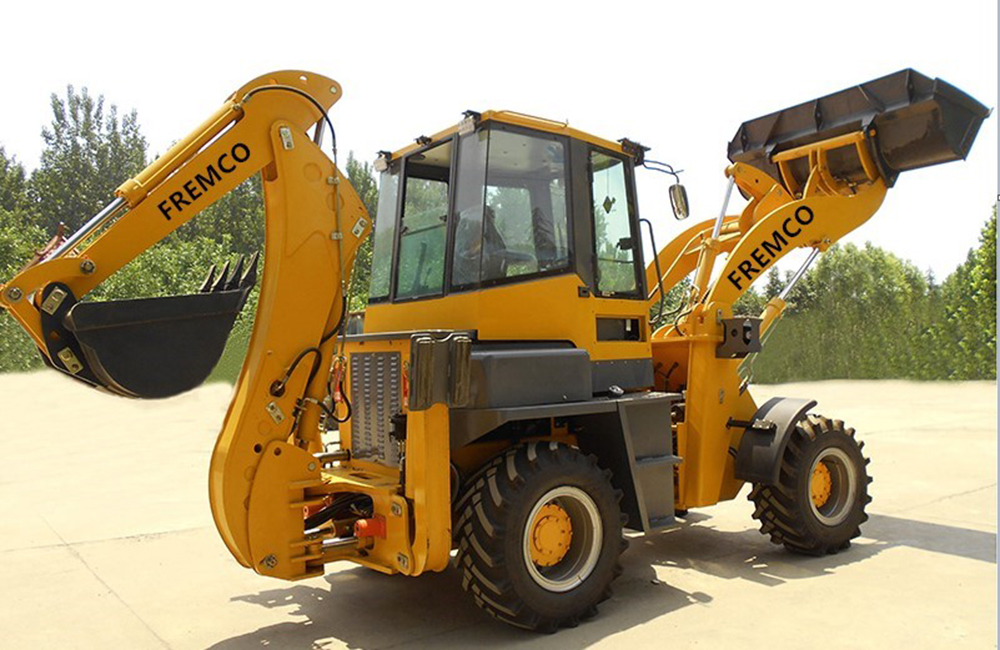 Backhoe Loader Diagram