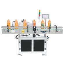 Automatic Square Shampoo Body Wash Bottle Labeling Machine Double Sides