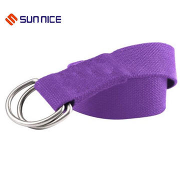 A suprema qualidade 100% algodão Yoga Stretch Strap Training Belt