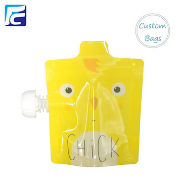 Baby Food Package Spout Bag Pouch