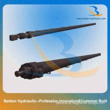 Cilindro hidráulico telescópico de vedação de pistão industrial para venda