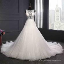 Sexy rückenfreies Brautkleid nach Maß