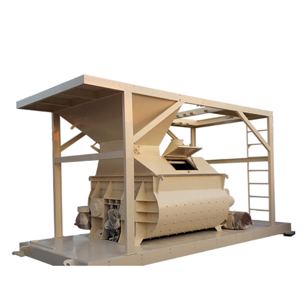 Js500 Concrete Mixer 4