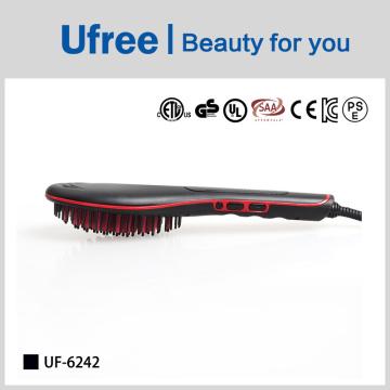 Ufree high Quality Comfortable Skin Hair Straightener Brush