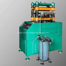 Máquina de punzonado y moldeado de aletas