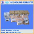 EGS65-5 S4D95LE-2 GENERADORES DIESEL PISTÓN 6204-31-2141
