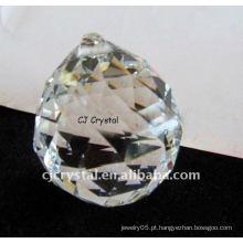 Candelabro moderno da bola de cristal