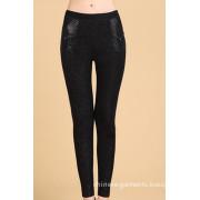 Women's Fashion Textile Casual Cotton Long Pants