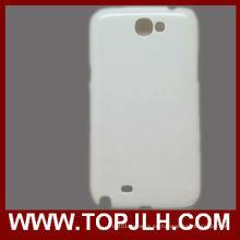 Caja del teléfono de la sublimación 3D para Samsung Galaxy Note 2