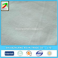 purcotton tricot brushed double white terry fabric